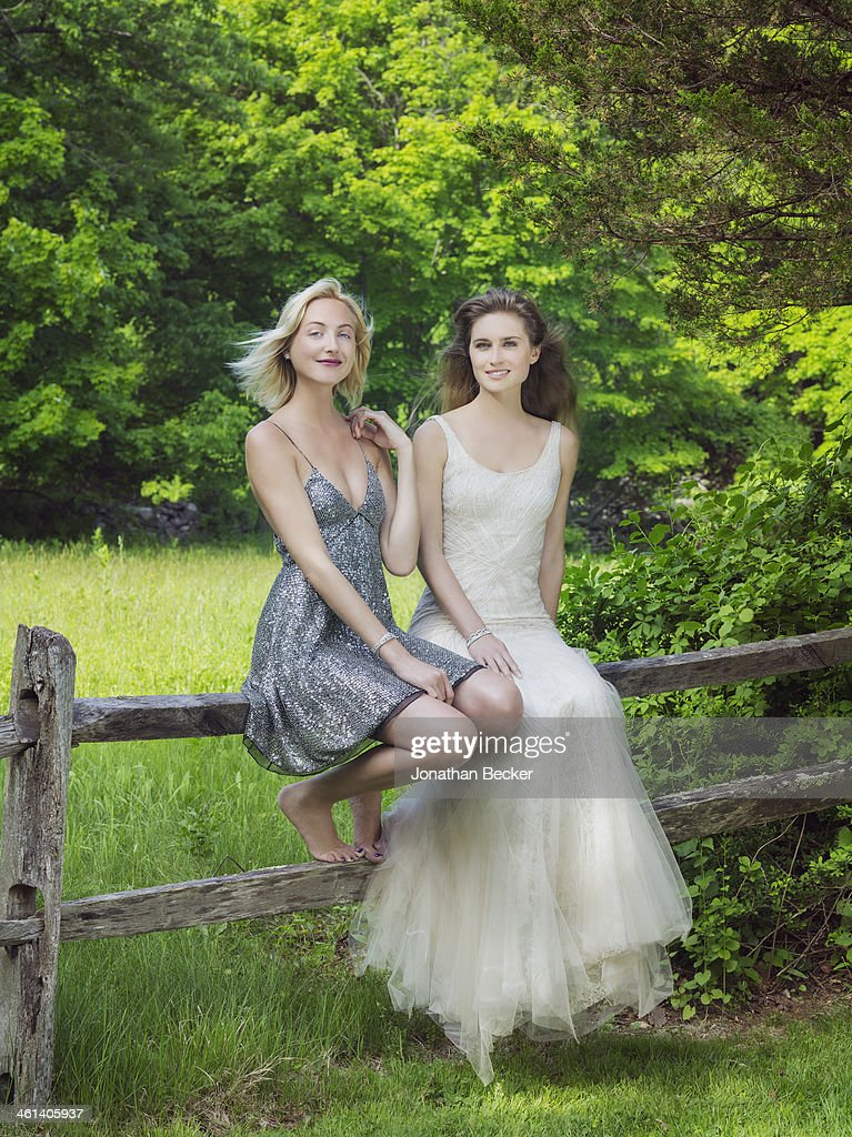 Lauren Bush & Claire Courtin-Clarins, Town & Country, September 1, 2013