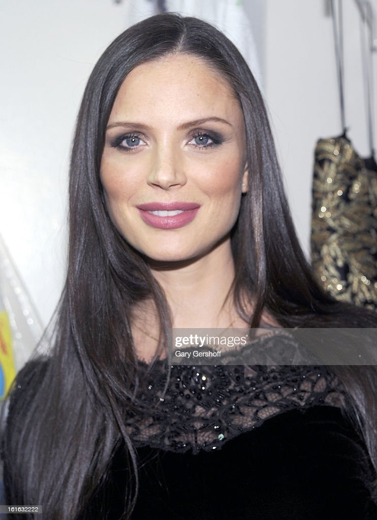 Co-founder of Marchesa, Georgina Chapman attends Marchesa during Fall 2013 Mercedes-Benz Fashion Week at New York Public Library - Celeste Bartos on February 13, 2013 in New York City.
