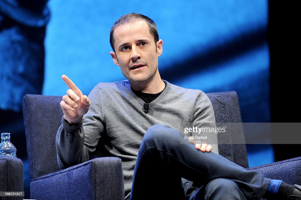Cofounder of Medium and Twitter Evan Williams speaks at the WIRED Business Conference: Think Bigger at Museum of Jewish Heritage on May 7, 2013 in New York City.