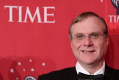 Cofounder of Microsoft Paul Allen attends Time's '100 Most Influential People In The World' Gala at Jazz at Lincoln Center in New York City on May 8...