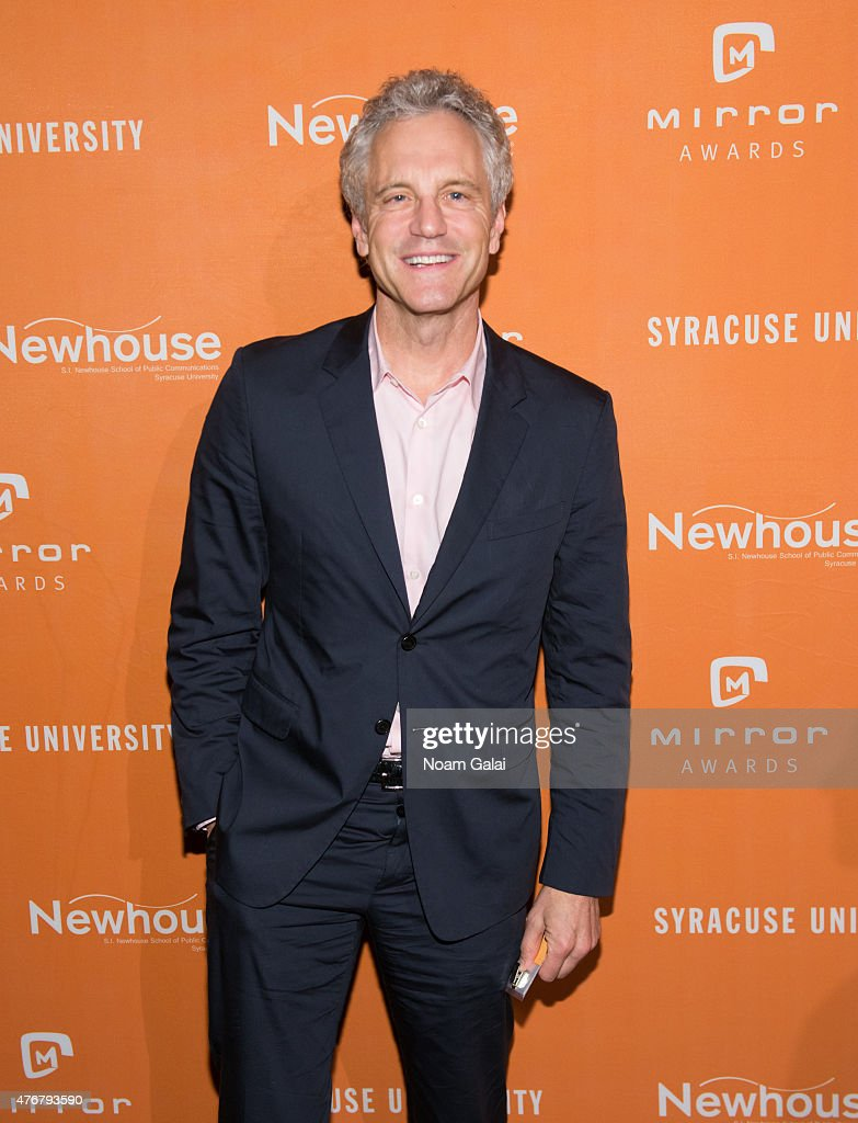 Cofounder of MTV and VH1 and President of Entertainment Enterprises for iHeartMedia Inc John Sykes attends the Mirror Awards '15 at Cipriani 42nd...