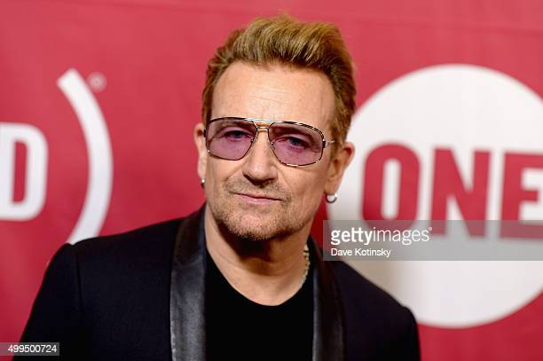 CoFounder of ONE and singer Bono attends the ONE Campaign and 's concert to mark World AIDS Day celebrate the incredible progress that's been made in...