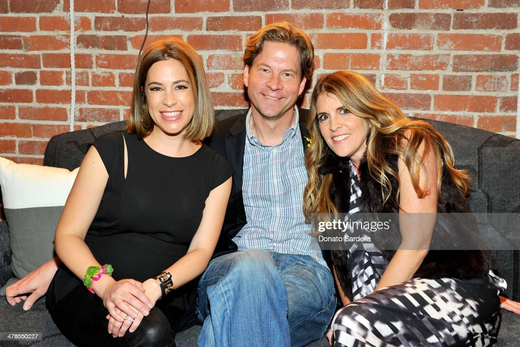 Co-founder of One Kings Lane Alison Pincus, CEO of One Kings Lane Doug Mack and Hunters Alley General Manager Andrea Stanford celebrate the launch of Hunters Alley at The Unique Space on March 13, 2014 in Los Angeles, California.
