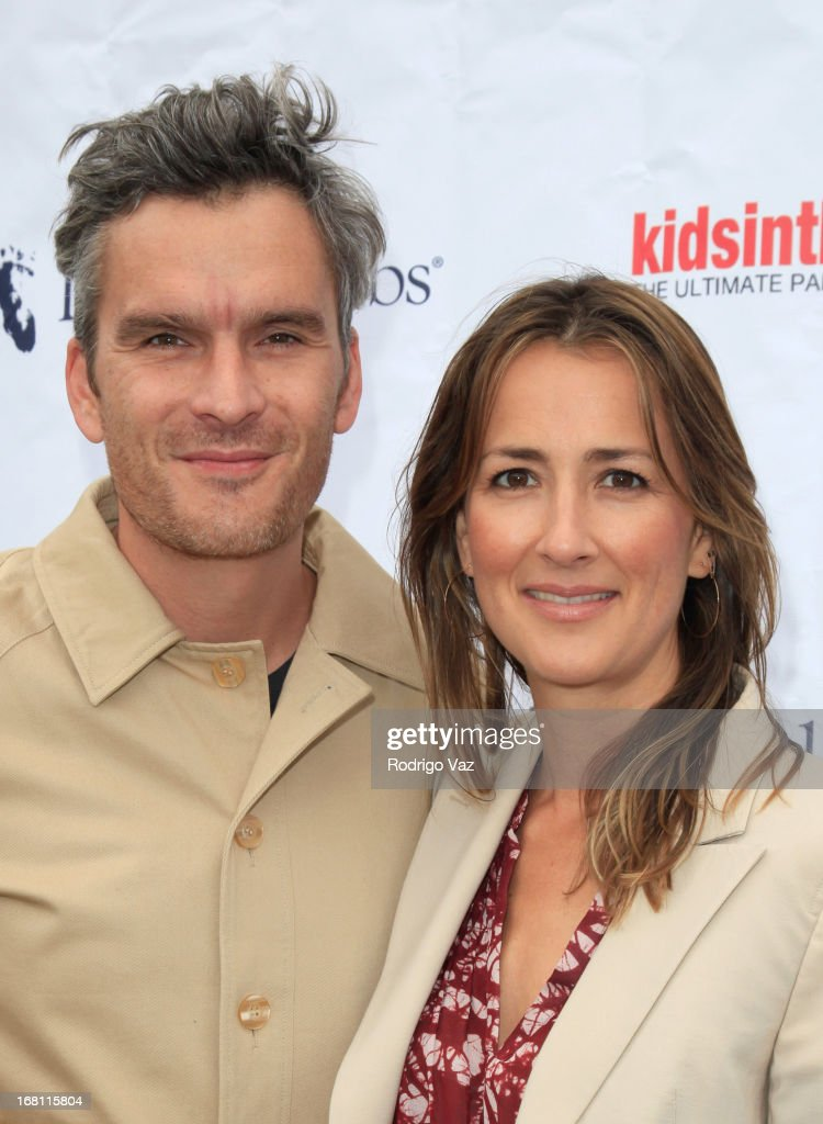 Co-Founder of Pregnancy Awareness Month Anna Getty (L) and actor Balthazar Getty attend the Pregnancy Awareness Month 2013 Kick-Off Event 'Celebrating Dad's Role In Pregnancy!' at Bergamot Station on May 5, 2013 in Santa Monica, California.