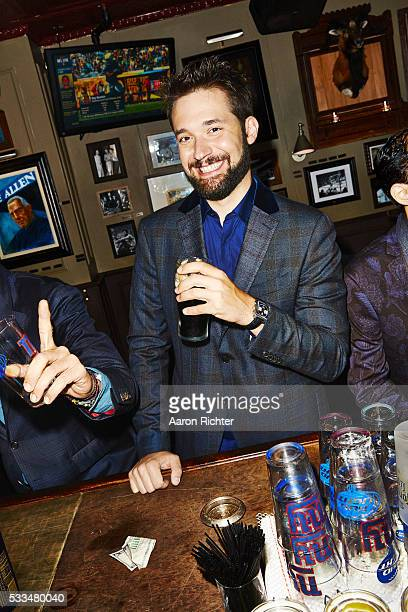 Cofounder of Reddit Alexis Ohanian is photographed for Esquire Magazine in 2014 in New York City PUBLISHED IMAGE