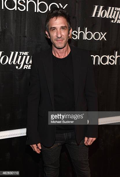 CCO CoFounder of Smashbox Enterprises Davis Factor attends Smashbox Studios Celebrates Grand ReOpening at Smashbox Studios on February 5 2015 in...