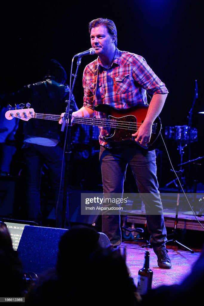 Co-founder of The Best Fest Austin Scaggs performs onstage singing 'Runnin' Down A Dream' at the first ever Jameson Petty Fest West at El Rey Theatre on November 15, 2012 in Los Angeles, California.