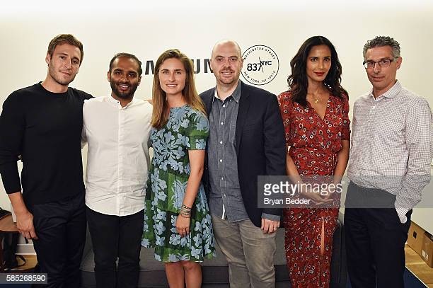 CoFounder of The Coveteur Jake Rosenberg CoFounder and COO of Casper Neil Parikh Founder and CEO of FEED Lauren Bush Lauren CPO of WeWork Dave Fano...