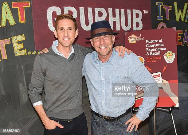 CoFounder of The Honest Company Christopher Gavigan and CEO of LiveWorld Peter Friedman attend Brand Innovators Future of Consumer Experience Retail...