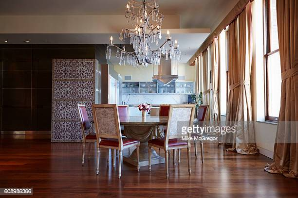 Cofounder of the Huffington Post Arianna Huffington's home is photographed for The Guardian Magazine on January 11 2016 in New York City