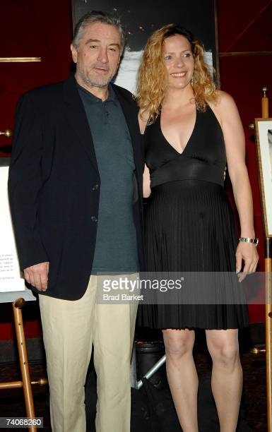 Cofounder of the Tribeca Film Festival Robert De Niro and Sharon Hacohen Bar attend the 2007 Tribeca Film Festival awards show and wrap party held at...