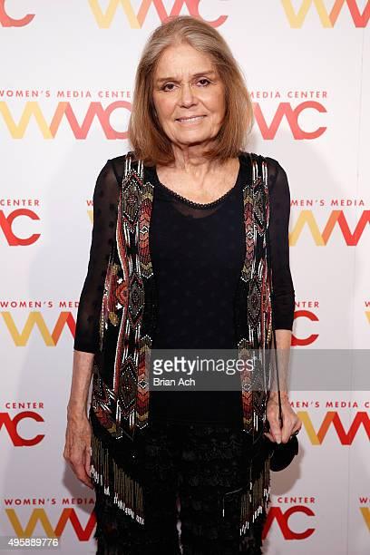 Cofounder of The Women's Media Center Gloria Steinem attends The Women's Media Center 2015 Women's Media Awards on November 5 2015 in New York City