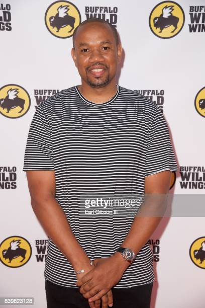 CoFounder PCF Restaurant Management Edward Barnett attends the Buffalo Wild Wings Opening In Koreatown at Buffalo Wild Wings on August 26 2017 in Los...