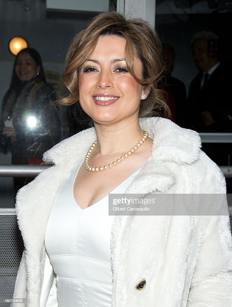 Co-Founder & President of The Colombian Film Festival Adriana Aristizabal attends the opening night of the 2nd annual Colombian International Film Festival at Tribeca Cinemas on March 26, 2014 in New York City.