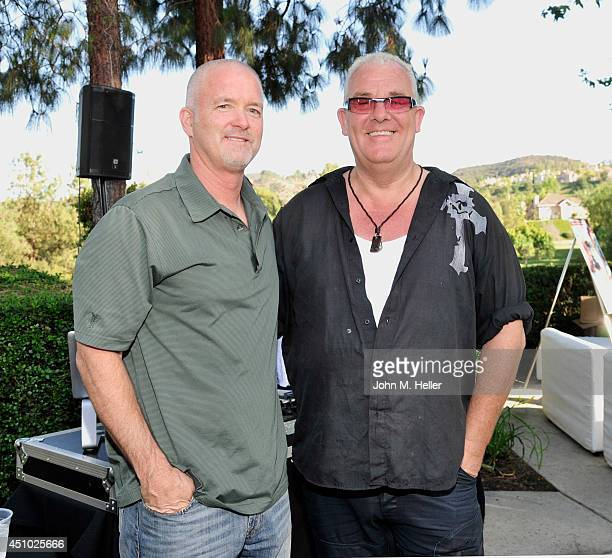 Cofounder Rock Against Trafficking Peter White and music producer/cofounder Rock Against Trafficking Gary Miller attend the Eighth Annual Calabasas...