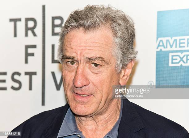 CoFounder Tribeca Film Festival Robert De Niro attends the 'Mistaken for Strangers' premiere during the opening night of the 2013 Tribeca Film...