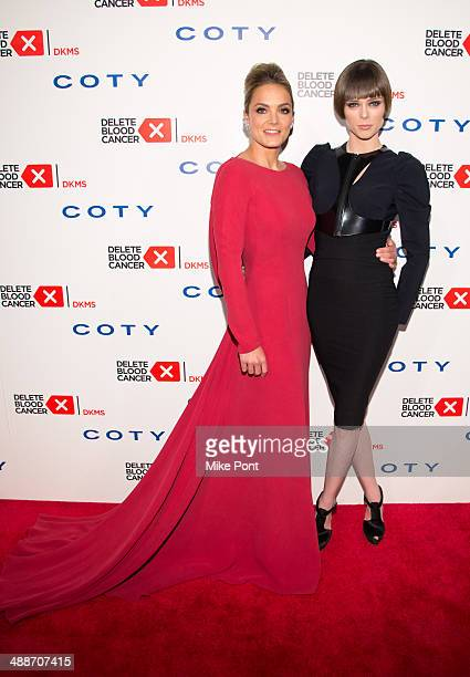 CoFounder/Board member of Delete Blood Cancer Katharina Harf and model Coco Rocha attend the 2014 Delete Blood Cancer Gala at Cipriani Wall Street on...