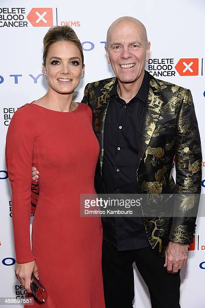 CoFounder/Board member of Delete Blood Cancer Katharina Harf and Peter Harf attend the 2014 Delete Blood Cancer Gala Honoring Evan Sohn and the Sohn...