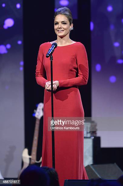 CoFounder/Board member of Delete Blood Cancer Katharina Harf speaks onstage at the 2014 Delete Blood Cancer Gala Honoring Evan Sohn and the Sohn...