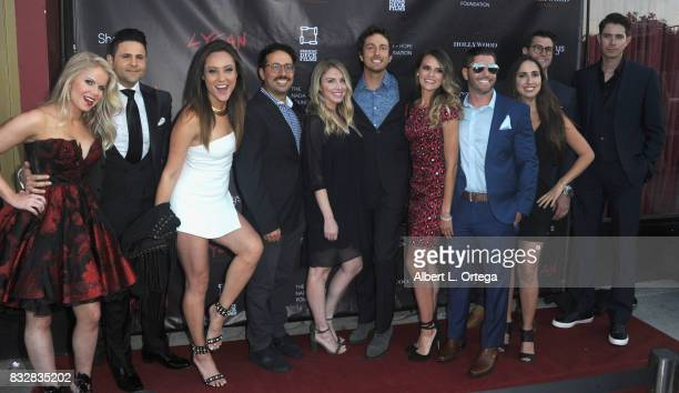"CoFounder/COO Austin Rovetti of Shottysand guests arrive for the Premiere Of Parade Deck's ""Lycan"" held at Laemmle's Ahrya Fine Arts Theatre on..."
