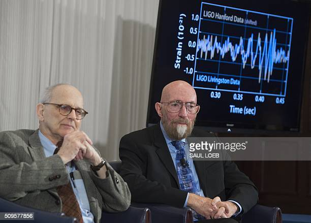 LIGO cofounders Kip Thorne and Rainer Weiss speak about their discovery showing the ripples in the fabric of spacetime called gravitational waves...