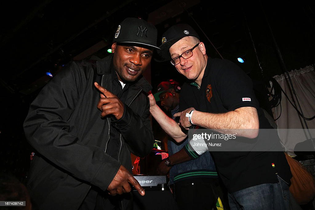 Co-founders of Massive B Sound System and WQHT radio personalities Jabba and Bobby Konders attend Hot 97's Who's Next Live: Reggae Edition at S.O.B.'s on April 24, 2013 in New York City.