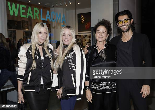 CoFounders of Pam Gela and Juicy Couture Gela NashTaylor and Pamela SkaistLevy Jewerly Designer Lisa Eisner and Oliver Peoples Designer Gianpiero...