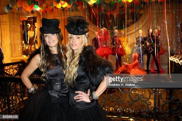 CoFounders Pamela SkaistLevy and Gela NashTaylor attend the opening party for Juicy Couture's 5th Avenue flagship store at the Juicy Couture boutique...