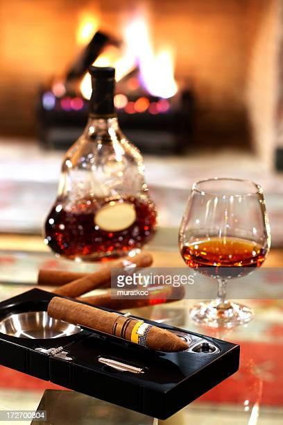 Cognac et de cigares
