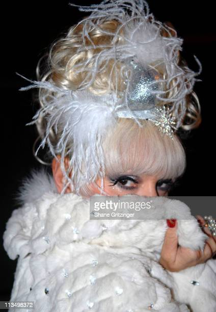 Cognac Wellerlane during Jackie Beat's Ninth Annual Holiday Show 'How the Bitch Stole Christmas' at The Cutting Room in New York City New York United...