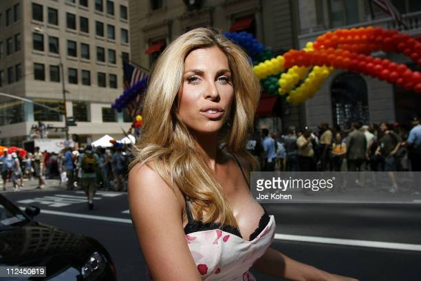 CoGrand Marshal Candis Cayne attends the 39th Annual New York LGBT Pride Day March on June 29 2008 in New York City