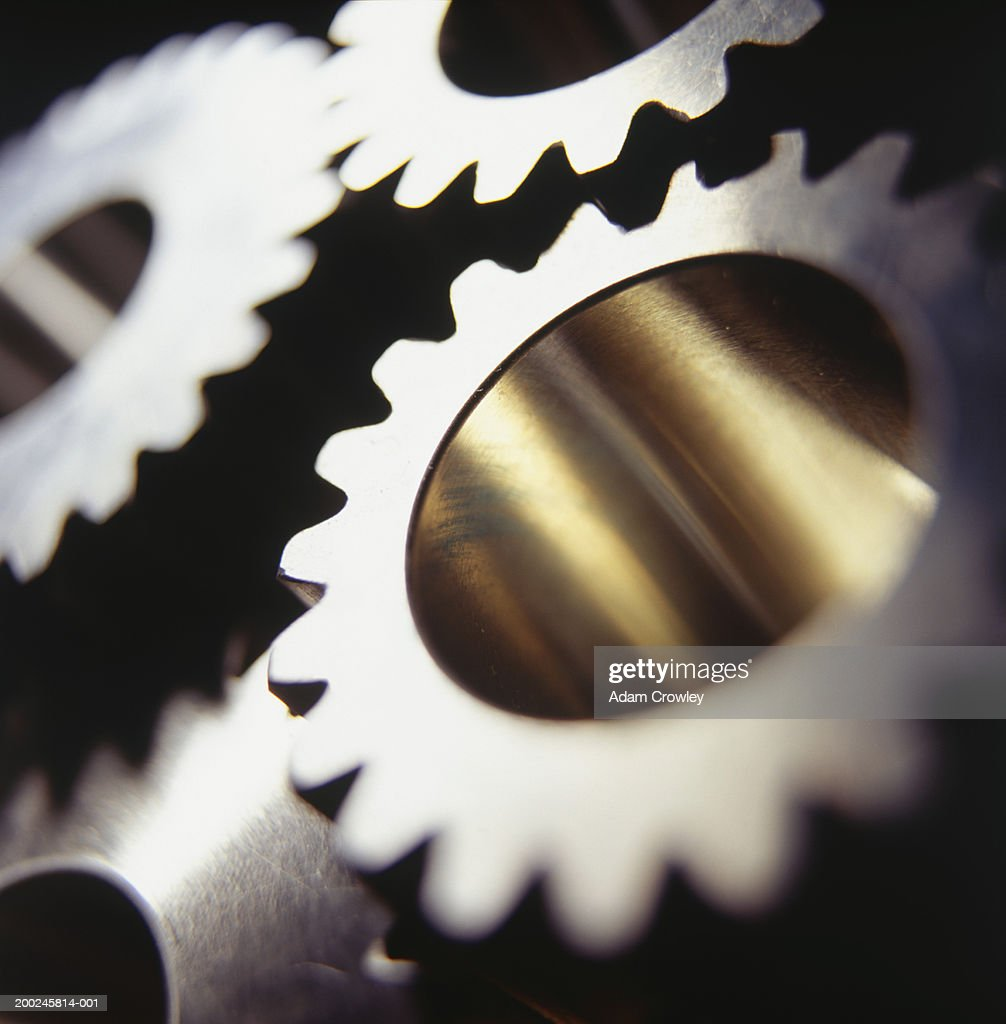 Cogs, (Close-up) : Stock Photo