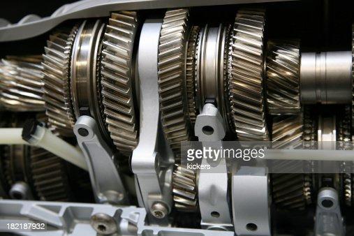 Cogwheels in gear