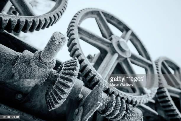 Cogwheels con escarcha
