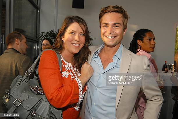Cohan Clark and Matt Trainor attend MACY'S Culinary Superstars Launch Party at Sky Studio on June 21 2006 in New York City