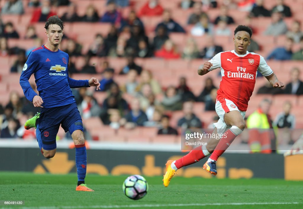 Arsenal v Manchester United - Premier League 2 : News Photo
