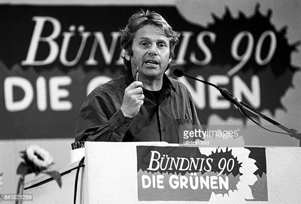 CohnBendit Daniel *Politiker Autor Die Gruenen D/ FrankreichMitglied des Europaeischen Parlamentes seit 1994 haelt als Dezernent des Amtes fuer...