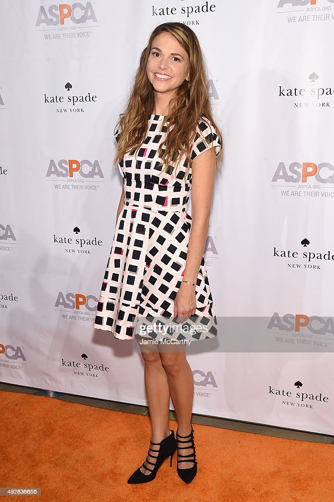 Cohost actress Sutton Foster attends the ASPCA Young Friends benefit at IAC Building on October 15 2015 in New York City