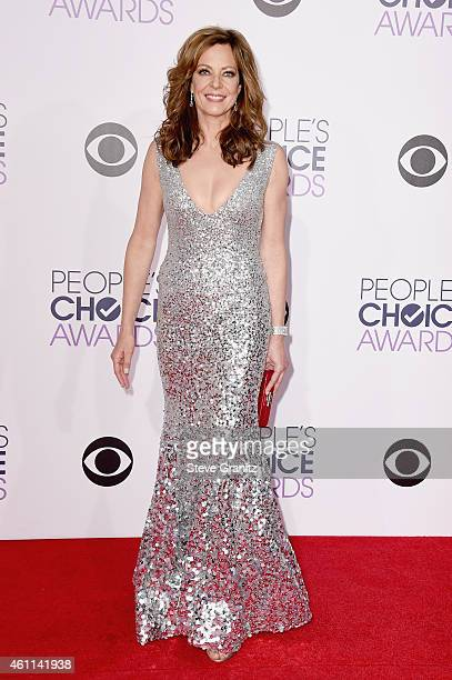 Cohost Allison Janney attends The 41st Annual People's Choice Awards at Nokia Theatre LA Live on January 7 2015 in Los Angeles California