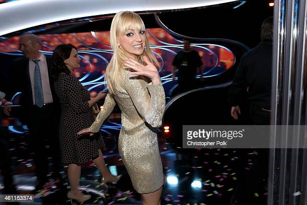 Cohost Anna Faris attends The 41st Annual People's Choice Awards at Nokia Theatre LA Live on January 7 2015 in Los Angeles California