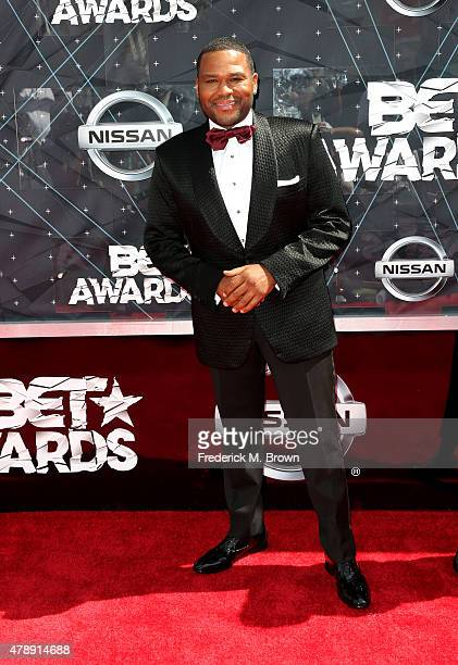 Cohost Anthony Anderson attends the 2015 BET Awards at the Microsoft Theater on June 28 2015 in Los Angeles California