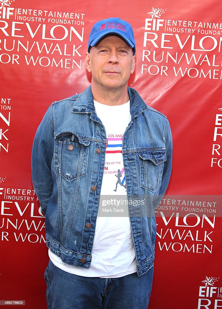 Co-Host Bruce Willis attends the 21st Annual EIF Revlon Run Walk For Women at Los Angeles Memorial Coliseum on May 10, 2014 in Los Angeles, California.