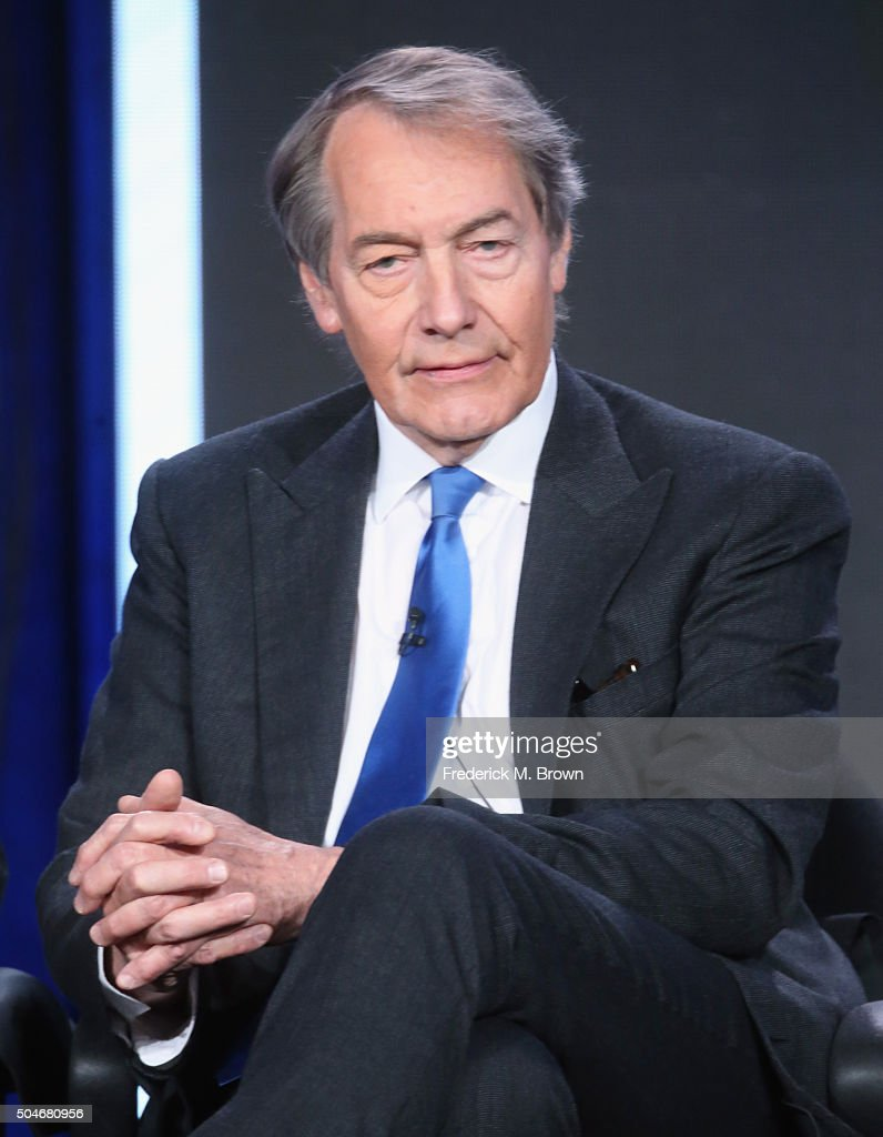 Co-Host 'CBS This Morning' <a gi-track='captionPersonalityLinkClicked' href=/galleries/search?phrase=Charlie+Rose&family=editorial&specificpeople=535420 ng-click='$event.stopPropagation()'>Charlie Rose</a> speaks onstage during the 'CBS This Morning' (Part 1) panel discussion at the CBS/ShowtimeTelevision Group portion of the 2015 Winter TCA Tour at the Langham Huntington Hotel on January 12, 2016 in Pasadena, California.