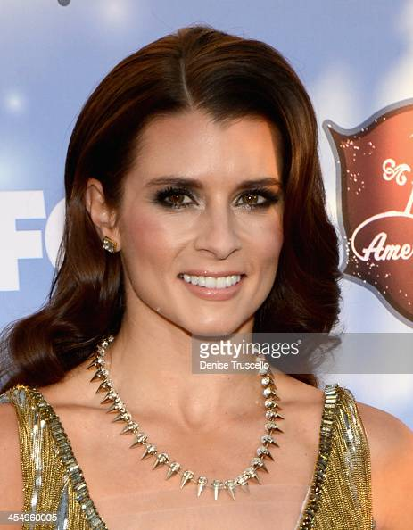 CoHost Danica Patrick arrives at the American Country Awards 2013 at the Mandalay Bay Events Center on December 10 2013 in Las Vegas Nevada