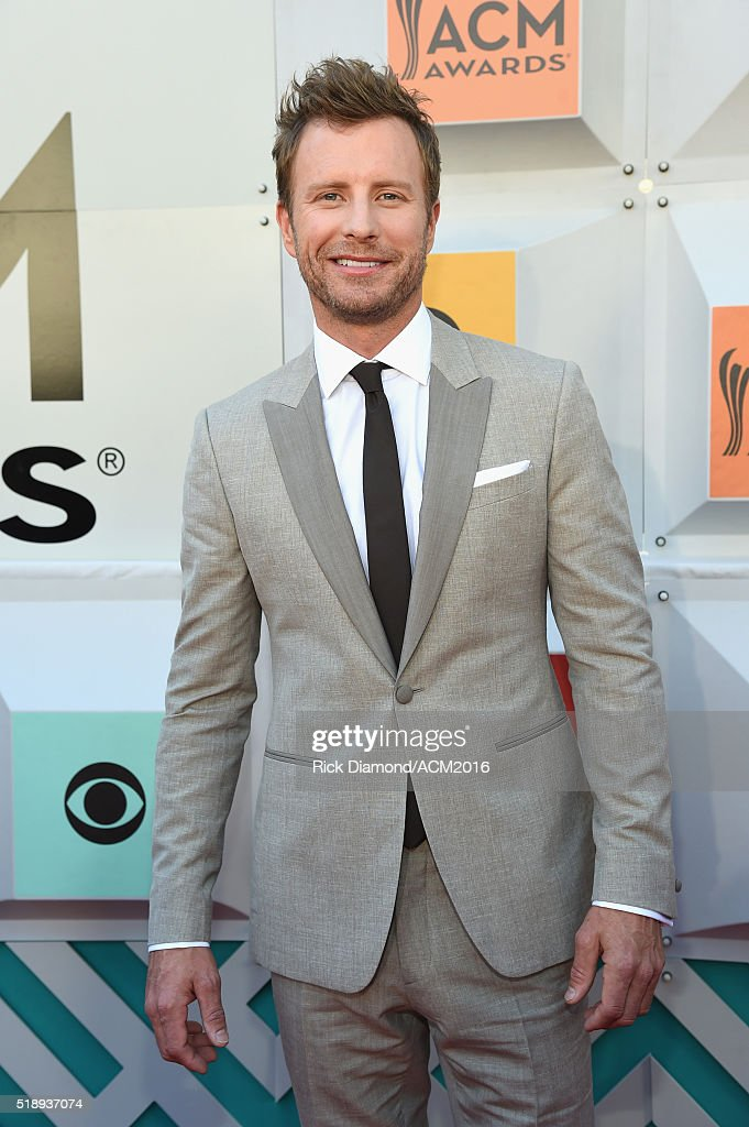 Cohost Dierks Bentley attends the 51st Academy of Country Music Awards at MGM Grand Garden Arena on April 3 2016 in Las Vegas Nevada