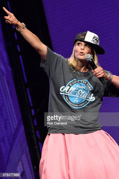 Cohost Elisabeth Hasselbeck speaks onstage during the 3rd Annual KLOVE Fan Awards at the Grand Ole Opry House on May 31 2015 in Nashville Tennessee