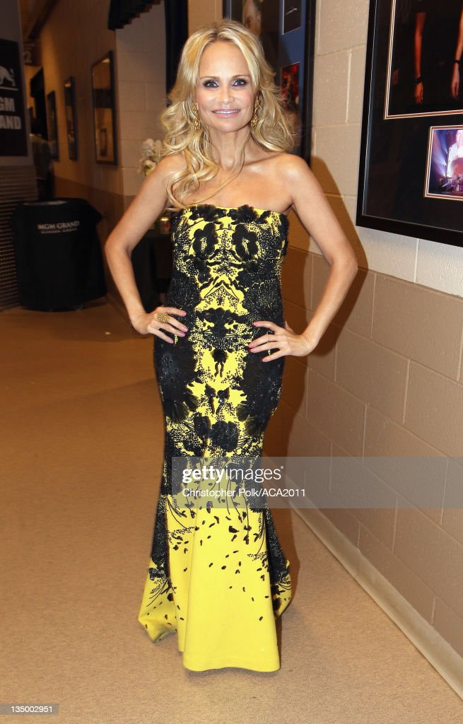 Co-host Kristin Chenoweth attends the American Country Awards 2011 at the MGM Grand Garden Arena on December 5, 2011 in Las Vegas, Nevada.