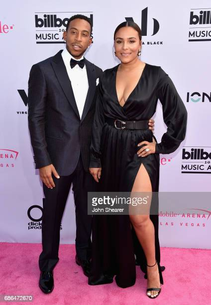 CoHost Ludacris and Eudoxie Mbouguiengue attend the 2017 Billboard Music Awards at TMobile Arena on May 21 2017 in Las Vegas Nevada