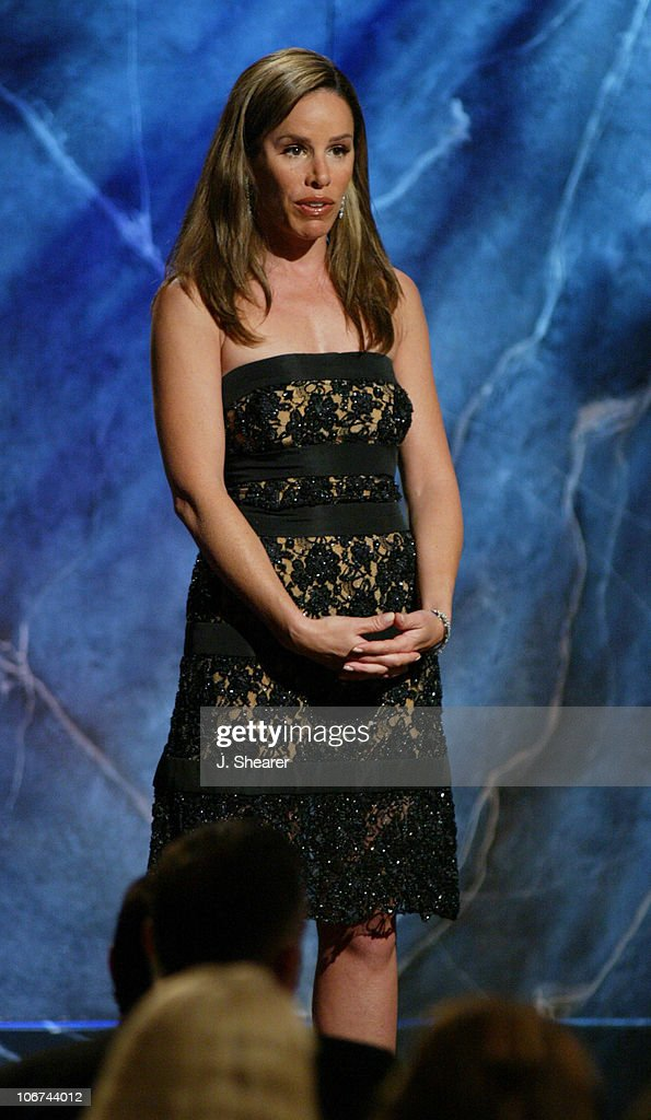 Co-host Melissa Rivers during The 18th Annual Genesis Awards and 50th Anniversary of the Humane Society of the United States - Show at The Beverly Hilton in Beverly Hills, California, United States.