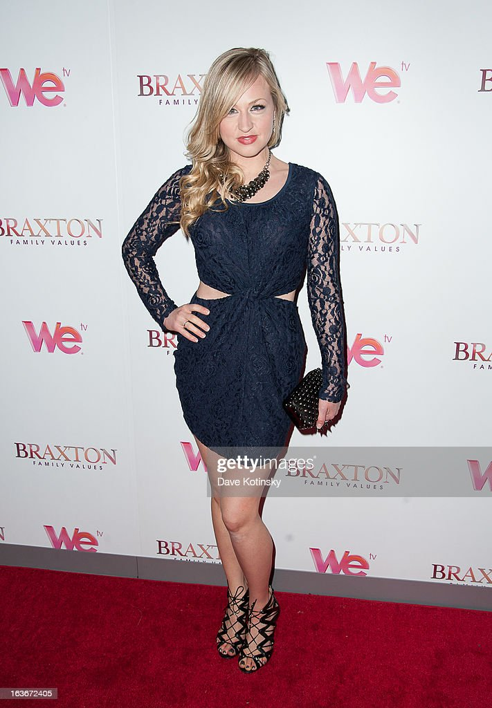 Co-host of Elvis Duran & the Z100 Morning Show, Bethany Watson attends the 'Braxton Family Values' Season Three premiere party at STK Rooftop on March 13, 2013 in New York City.